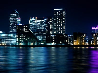 London Canary Wharf Timelapse