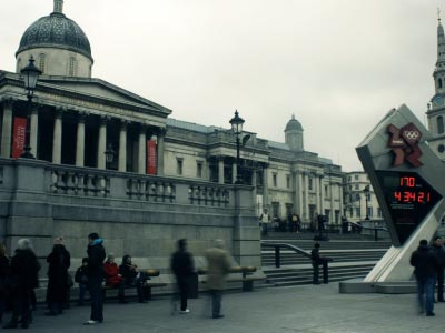 London Trafalgar Square Timelapse